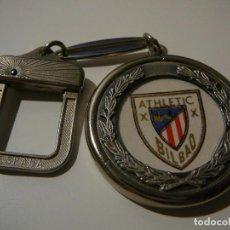 Coleccionismo deportivo: LLAVERO ATHLETIC BILBAO. ESPAÑA. ATHLETIC CLUB. ATHLETIC DE BILBAO.. Lote 136066970