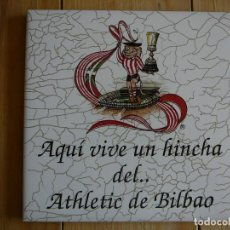 Collectionnisme sportif: BALDOSÍN ATHLETIC DE BILBAO. ATHLETIC CLUB. CAMPEÓN SUPERCOPA. Lote 136067398