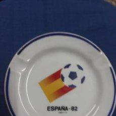 Coleccionismo deportivo: CENICERO MUNDIAL ESPAÑA 82 MIDE 11,5 DE DIÁMETRO.-. Lote 137378446