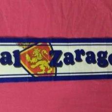 Coleccionismo deportivo: BUFANDA FUTBOL REAL ZARAGOZA SAVIO. Lote 137389594