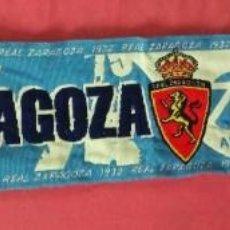 Coleccionismo deportivo: BUFANDA FUTBOL REAL ZARAGOZA DESDE 1932. Lote 137390950