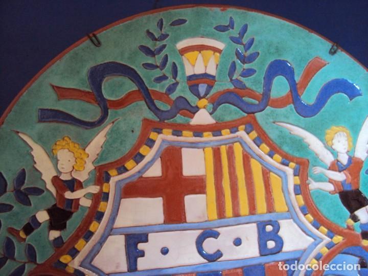 Coleccionismo deportivo: (F-181098)CERAMICA Y REVISTA ESCUDO F.C.BARCELONA AÑOS 20 . JOSEP ARAGAY BLANCHART (1889-1973) - Foto 3 - 137714414