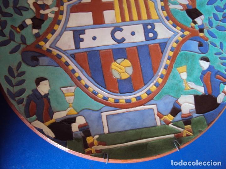 Coleccionismo deportivo: (F-181098)CERAMICA Y REVISTA ESCUDO F.C.BARCELONA AÑOS 20 . JOSEP ARAGAY BLANCHART (1889-1973) - Foto 4 - 137714414