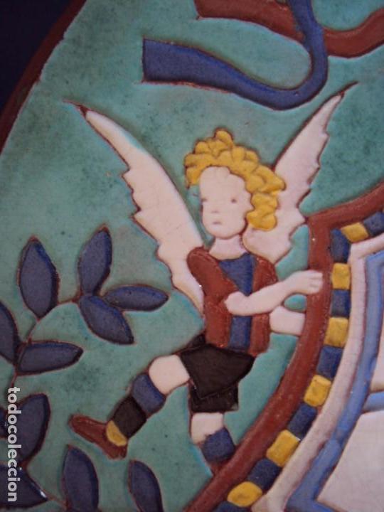 Coleccionismo deportivo: (F-181098)CERAMICA Y REVISTA ESCUDO F.C.BARCELONA AÑOS 20 . JOSEP ARAGAY BLANCHART (1889-1973) - Foto 5 - 137714414