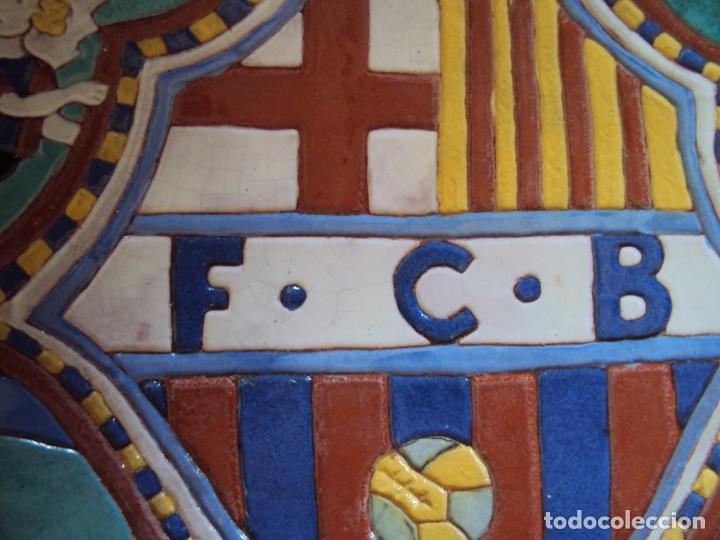Coleccionismo deportivo: (F-181098)CERAMICA Y REVISTA ESCUDO F.C.BARCELONA AÑOS 20 . JOSEP ARAGAY BLANCHART (1889-1973) - Foto 7 - 137714414