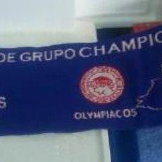 Coleccionismo deportivo: BUFANDA DEPORTIVO LA CORUÑA FASE DE GRUPO CHAMPION LEAGUE 2004 2005 LIVERPOOL OLYMPIACOS MONACO. Lote 138532278