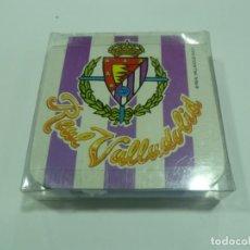 Coleccionismo deportivo: POSAVASOS DEL REAL VALLADOLID-NUEVOS. Lote 158423409