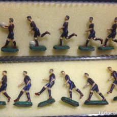 Coleccionismo deportivo: ESPECTACULAR COLECCION MUÑECOS DE PLOMO DEL FUTBOL CLUB F.C BARCELONA FC BARÇA CF JOYA. Lote 139695642
