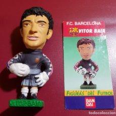 Coleccionismo deportivo: BANDAI - BARCELONA - COLECCIÓN FIGURAS DEL FUTBOL - 1997 - BAIA. Lote 141026542