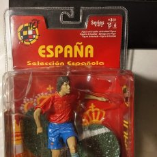 Coleccionismo deportivo: FIGURA MUÑECO ACCIÓN FTCHAMPS FT CHAMPS RAUL GONZALEZ ESPAÑA SELECCIÓN ESPAÑOLA REAL MADRID 15 CM. Lote 141151076