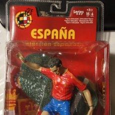 Coleccionismo deportivo: FIGURA MUÑECO ACCIÓN FTCHAMPS FT CHAMPS VICENTE RODRÍGUEZ VALENCIA ESPAÑA SELECCIÓN ESPAÑOLA 15 CM. Lote 141216138