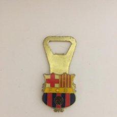 Coleccionismo deportivo: ABRIDOR CON ESCUDO DEL F.C.B. BARCELONA BARÇA. Lote 142108126