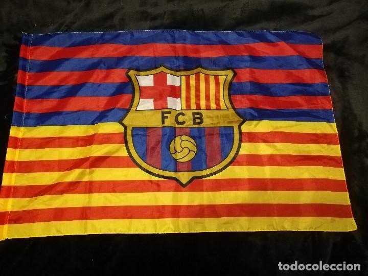 54b505758c9d8 bandera del f.c. barcelona - mitad azulgrana
