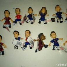 Coleccionismo deportivo: FC BARCELONA,MUÑECOS COMANSI Y YOLANDA,. Lote 142730218