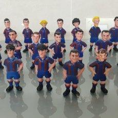Coleccionismo deportivo: COLECCION COMPLETA 24 FIGURAS PVC BARÇA 1995 F.C. BARCELONA. Lote 142874194