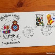 Coleccionismo deportivo: RCD ESPAÑOL. PRIMER DIA DE CIRCULACION.. Lote 143181906
