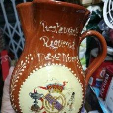 Coleccionismo deportivo: JARRA REAL MADRID FUTBOL CLUB. ANTIGUA JARRA REAL MADRID. Lote 145187050