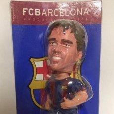 Coleccionismo deportivo: MUÑECO FIGURA COLECCION BOBBLE HEADS DECO F.C.B. BARCELONA FCB BARÇA MIDE 19CM CABEZAS DE BOLAS . Lote 145430574