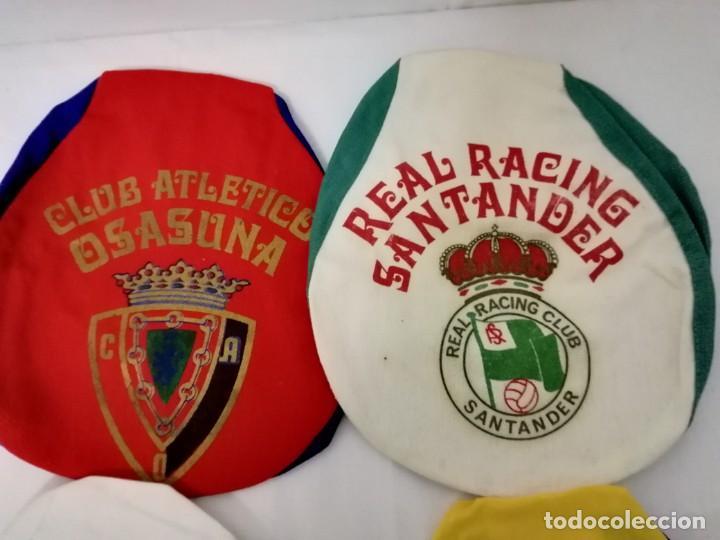 Coleccionismo deportivo: LOTE DE 17 GORRAS DE EQUIPOS DE FUTBOL ESPAÑOLES. - Foto 7 - 145486106