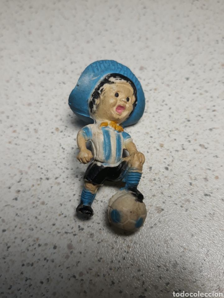 LLAVERO DE GAUCHITO, MASCOTA DEL MUNDIAL DE ARGENTINA 1978 .NO TIENE EL ENGANCHE (Coleccionismo Deportivo - Merchandising y Mascotas - Futbol)
