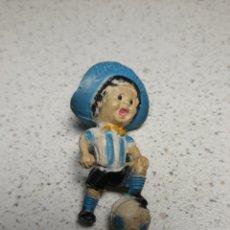 Coleccionismo deportivo: LLAVERO DE GAUCHITO, MASCOTA DEL MUNDIAL DE ARGENTINA 1978 .NO TIENE EL ENGANCHE. Lote 145662801