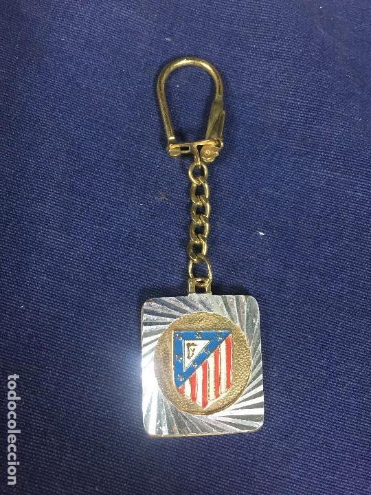 LLAVERO ATLETICO MADRID METAL PINTADO NUEVO VER FOTOS 38X30MM (Coleccionismo Deportivo - Merchandising y Mascotas - Futbol)