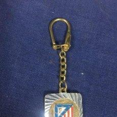 Coleccionismo deportivo: LLAVERO ATLETICO MADRID METAL PINTADO NUEVO VER FOTOS 38X30MM. Lote 146085798