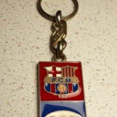 Coleccionismo deportivo: LLAVERO EN METAL ESMALTADO DEL FUTBOL CLUB BARCELONA . CAT. Lote 146176688