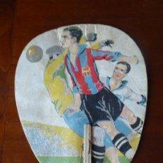 Coleccionismo deportivo: FUT-99. PAI PAI JUGADORES DE FUTBOL. AÑOS 20. CON JUGADOR FC BARCELONA. BRAVO FOTOGRAFO. MADRID. Lote 146177134