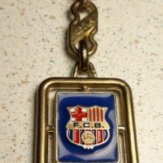 Coleccionismo deportivo: BONITO LLAVERO DEL FUTBOL CLUB BARCELONA EN METAL ESMALTADO. Lote 146177734