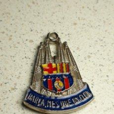 Coleccionismo deportivo: LLAVERO DEL FUTBOL CLUB BARCELONA Y LA SAGRADA FAMILIA. Lote 146178050