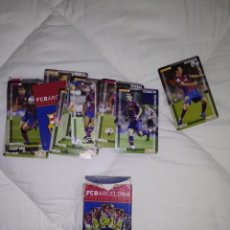 Coleccionismo deportivo: BARAJA DE CARTAS FC BARCELONA FOURNIER MESSI. Lote 146278362