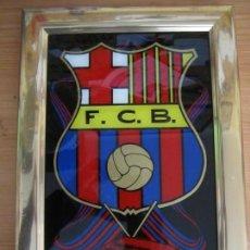 Coleccionismo deportivo: CUADRO F.C.B FUTBOL CLUB BARCELONA BARÇA. Lote 146623306