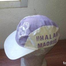 Coleccionismo deportivo: ANTIGUA GORRA REAL MADRID - ¡¡¡¡ HALA MADRID !!!! -------- ZXY. Lote 146983698