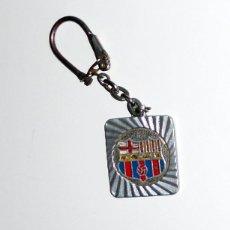 Coleccionismo deportivo: LLAVERO ANTIGUO - FÚTBOL VINTAGE - CFB BARCELONA ESCUDO ANTIGUO - FC BARCELONA - AÑOS 70. Lote 147089242