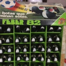 Coleccionismo deportivo: 95 PARES DE BOTAS ANDARINAS DE FEBER MUNDIAL 82. Lote 147103790