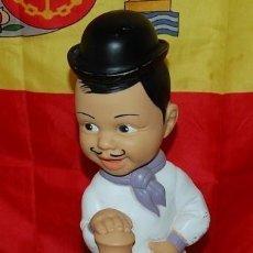 Coleccionismo deportivo: ANTIGUA HUCHA DE GOMA DEL REAL MADRID. Lote 147104322