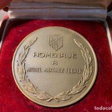 Coleccionismo deportivo: MEDALLA HOMENAJE MIGUEL MARTINEZ FEBRER AT MADRID 1967 O FUTBOL CLUB FC BARCELONA CF BARÇA F.C . Lote 147421282