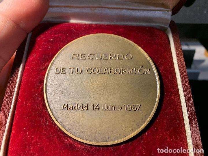 Coleccionismo deportivo: MEDALLA HOMENAJE MIGUEL MARTINEZ FEBRER AT MADRID 1967 o FUTBOL CLUB Fc Barcelona cf barça f.c - Foto 3 - 147421282