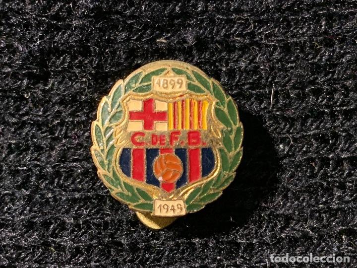 PING INSIGNIA BODAS DE ORO 1949 FUTBOL CLUB BARCELONA FC BARCELONA CF BARÇA F.C (Coleccionismo Deportivo - Merchandising y Mascotas - Futbol)