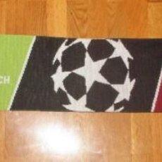 Coleccionismo deportivo: BUFANDA OFICIAL DEL F.C.BARCELONA Y EL BORUSSIA PARK DE LA UEFA DEL 2.016. Lote 147562050