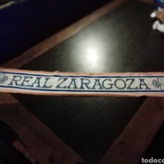 Coleccionismo deportivo: BUFANDA LANA REAL ZARAGOZA FÚTBOL. Lote 148092422