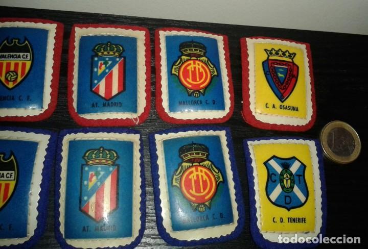 Coleccionismo deportivo: -ESCUDO DE TELA ANTIGUO DE FUTBOL : LOTE DE 12 DIFERENTES - Foto 4 - 148378254