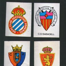 Coleccionismo deportivo: LOTE 13 PEGATINAS ANTIGUAS FUTBOL . Lote 148493622