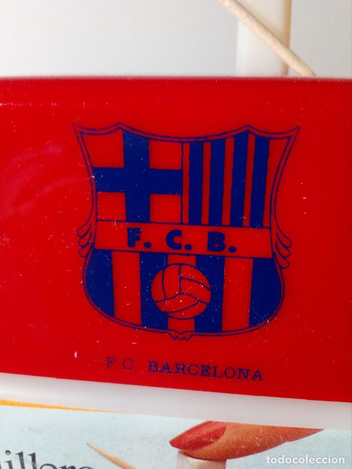 PALILLERO AUTOMÁTICO F.C.BARCELONA (ESCUDO COLOR AZUL) (Coleccionismo Deportivo - Merchandising y Mascotas - Futbol)