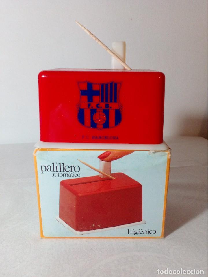 Coleccionismo deportivo: PALILLERO AUTOMÁTICO F.C.BARCELONA (ESCUDO COLOR AZUL) - Foto 2 - 148706038