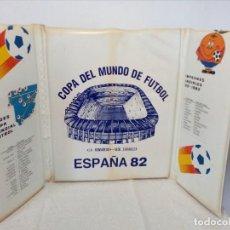 Coleccionismo deportivo: ALMOHADILLA MUNDIAL ESPAÑA 82 (LA ROMAREDA, SEDE ZARAGOZA) NARANJITO. Lote 149468518