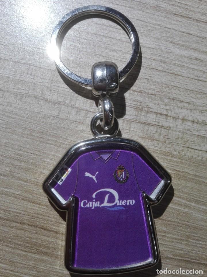 LLAVERO REAL VALLADOLID CAMISETA DORSAL 1 SERGIO ASENJO (PORTERO)- PUMA (Coleccionismo Deportivo - Merchandising y Mascotas - Futbol)