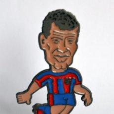 Coleccionismo deportivo: FIGURA DE METAL - JUGADOR DEL FÚTBOL CLUB / FC BARCELONA - TEMPORADA 1998-99: RIVALDO. Lote 149866750
