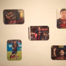 Coleccionismo deportivo: IMAN MESSI FUTBOL CLUB BARCELONA - LOTE IMANES NEVERA MESSI. Lote 158877576
